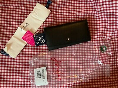 Joules Womens Tally Large Leather Purse - Oxblood - New With Tags & Still Sealed