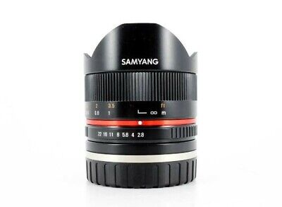 NEW Samyang 8mm F2.8 UMC Fisheye II Lens for FUJIFILM X