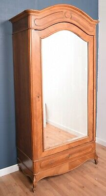 French Antique Louis Glazed Armoire Wardrobe  DELIVERY AVAILABLE