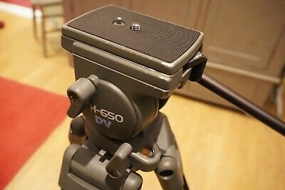 Libec TH-650DV Video Tripod with Fluid Head and Case
