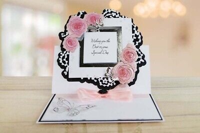 Tattered Lace Autumnal Country House Die Set Floral Frames Thinking Of You NEW