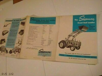 OLD LAHMAN LITTLE DIPPER LOADER SALES BROCHURE CATALOG CF1632-40