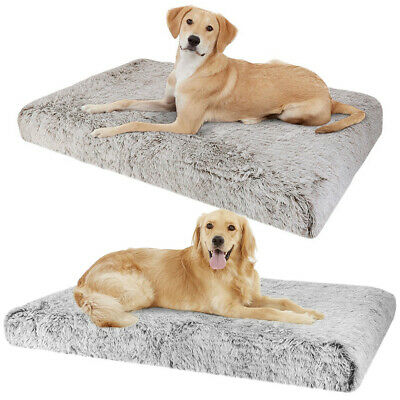 Dog Mat Mattress Bed Cushion Chew Resistant Washable Warm Pet Basket L-XXX Large
