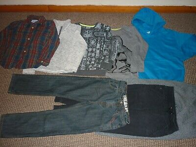 Bundle Boys Clothes age 7-8yrs Blue Zoo  Joules  Shirt Jeans Joggers Hoodie MORE