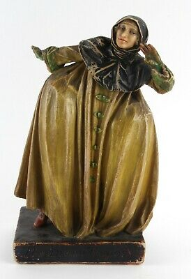 Agatha Walker Arts and Crafts Theatrical Compton Style Plaster Wax Figure 1922