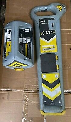E Cat 4+ Cable Scanner Cat Scanner Radiodetection + Genny 4
