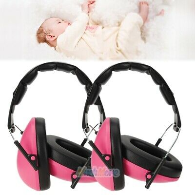 2x Baby Kids Earmuffs Hearing Protection Noise Cancelling Headphone Adjustable
