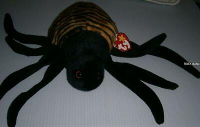 Ty ~ Spinner ~  The Spider Beanie Buddy  Retired -Nwt.incl.can.tush T.-