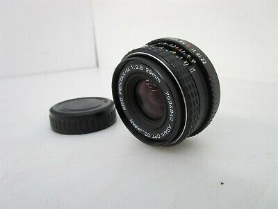 Pentax-M SMC 28mm f2.8 Prime Lens Japan