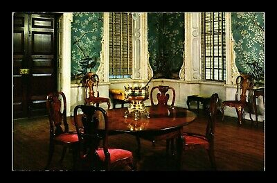 Dr Jim Stamps Us Supper Room Governors Palace Williamsburg Virginia Postcard