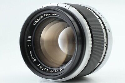 *Exc+3* Canon 50mm F/1.8 Leica L39 Screw Mount LTM Lens from Japan #M-92-2