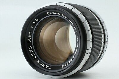 【Exc+3】Canon 50mm F/1.8 Leica L39 Screw Mount LTM Lens from Japan #M-45-2