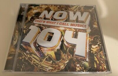 Now That's What I Call Music! 104 [CD] Album (NEW/SEALED) 💿