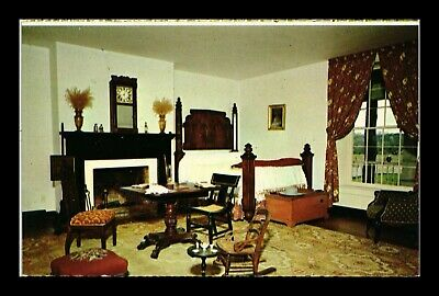 Dr Jim Stamps Us Master Bedroom Mclean House Virginia Chrome View Postcard