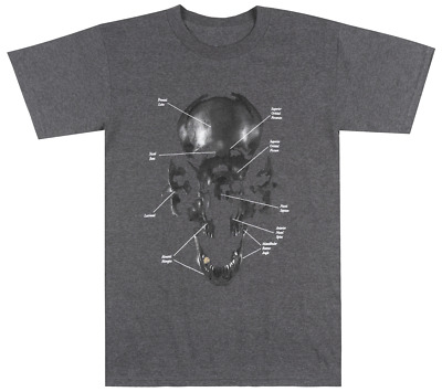 Black Scale Exploding Skull T-Shirt Mens Streetwear Tee Blvck Scvle Charcoal