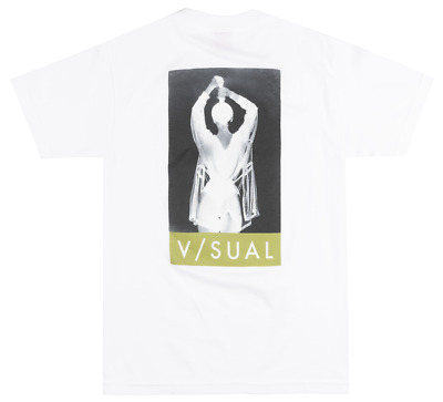 V//SUAL PUSH T-SHIRT MENS VISUAL VAN STYLES SKATEBOARDING PHOTOGRAPHY TEE BLACK