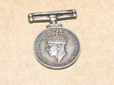 WWII British Canadian Commonwealth War Medal King George VI 1939-1945 No Ribbon