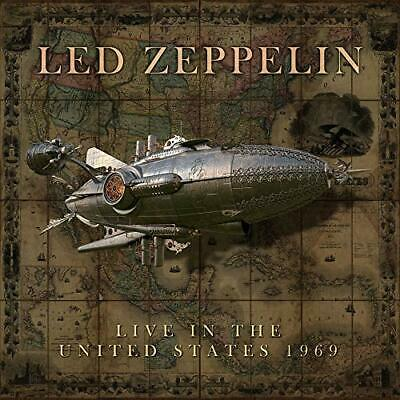LED ZEPPELIN 'LIVE IN THE UNITED STATES 1969' 2 CD Set (PRE-ORDER : 19 Mar. '20)
