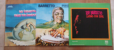 LOT 3 LP  RAY BARRETTO : From The Beginnings / Latino Con Soul / Rican-Struction