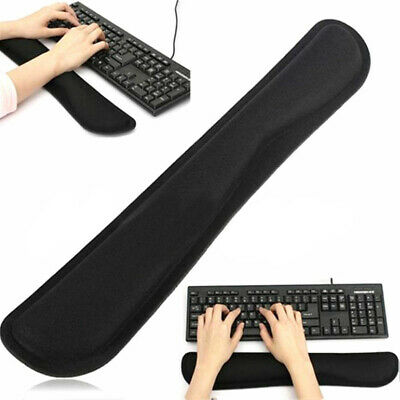 AU Slow Rising Memory Foam Keyboard Wrist Pad Hand Comfort Rest Support Cushion