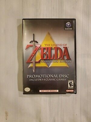 Legend of Zelda Collector's Edition Nintendo GameCube Promo Disc Complete 2003