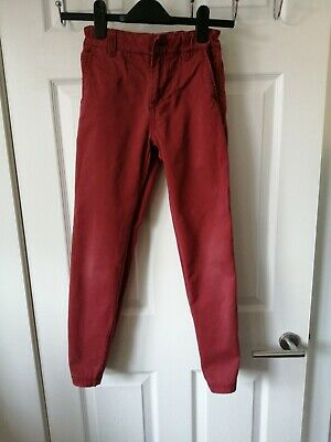 Fat Face Boys Rust Colour Jeans Aged 9 Years