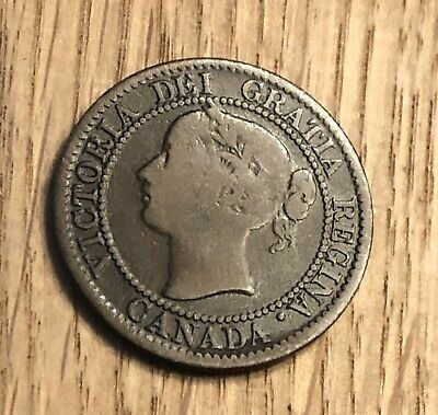 Canada 1859 One Cent In High Grade (358)
