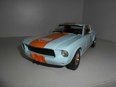 Ford Mustang Coupe Gulf 1967 Greenlight 1:18