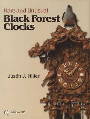 Rare Unusual Antique German Black Forest Clocks Collector Guide c1800s 700 Shown
