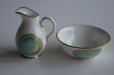 Lovely miniature Spode jug and bowl