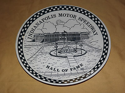 Vintage Indianapolis Motor Speedway Hall Of Fame Souvenir Dish Plate