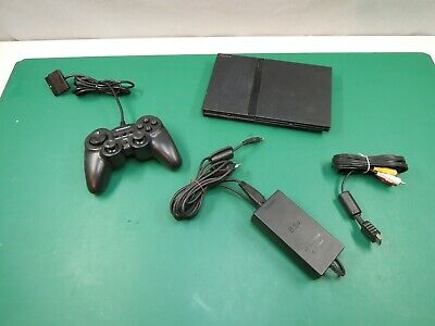 Sony Playstation 2 slim / PS2 Konsole mit Controller
