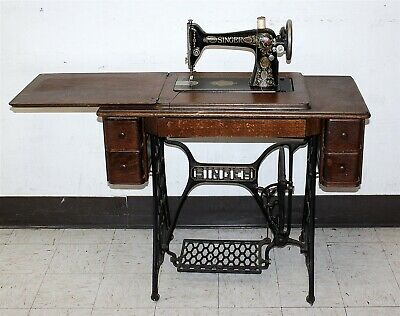 Antique Singer 15 1910 Sewing Machine Treadle Local Pickup Only