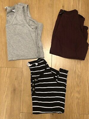 Bundle Of Maternity Tops Size 12 New Look & Dorothy Perkins
