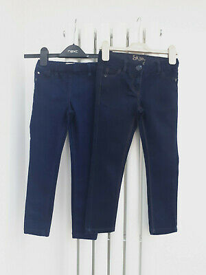 2x Girls NEXT jeans age 5 years