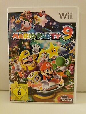 Mario Party 9 Nintendo Wii Pal Inkl. Ovp + Anleitung