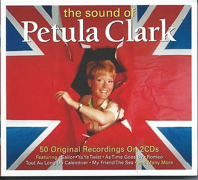 Petula Clark - The Sound Of / The Best Of / Greatest Hits 2CD NEW/SEALED