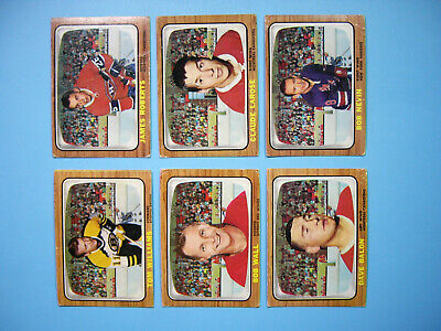 Lot 10 1966/67 Topps Nhl Hockey Cards Gd/Vg Nice!! Jim Roberts George Armstrong