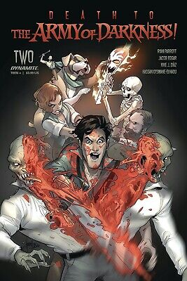 DEATH TO ARMY OF DARKNESS #1 | DYNAMITE | SELECT OPTION |  (W) Ryan Parrott