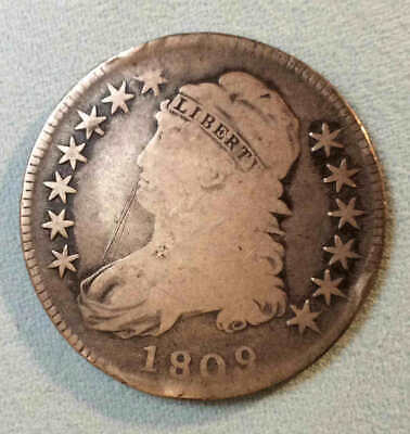 1809 Bust Half Dollar Early Date