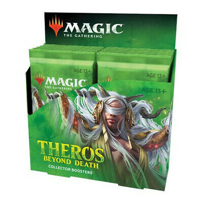 MTG Magic Theros Beyond Death Collector Booster Display Box NEW FACTORY SEALED