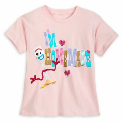 Disney Authentic Toy Story 4 Forky Cute T Shirt Tee for Girls NWT Size S M L