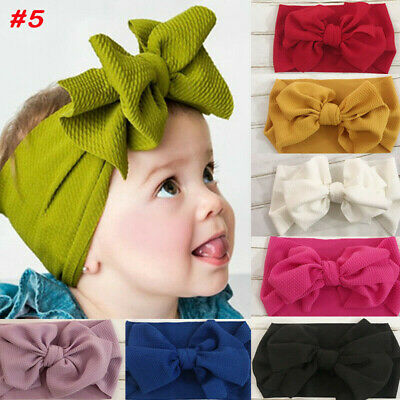 Baby Girl Headbands Newborn Headband Baby Headband Bow Knot Head Wraps Headwear