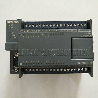 1pc used Siemens SIMATIC S7-200 6ES7 214-1BD22-0XB0 fully tested