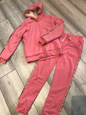 Girls pink tracksuit age 11-12 yrs. M&S