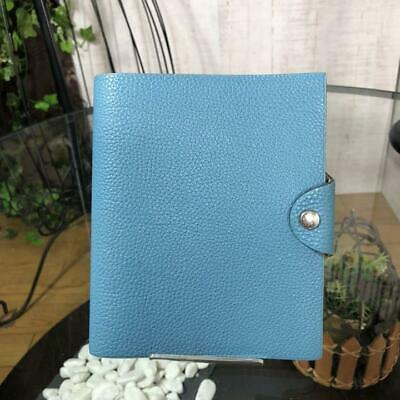 Hermes Notebook Cover Ulysse Mm Turquoise