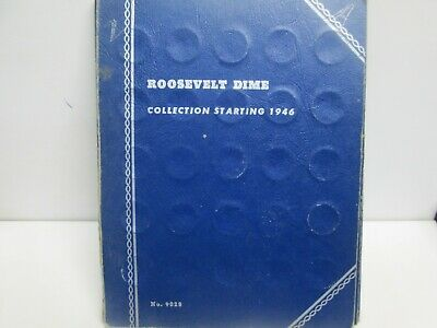 Whitman Roosevelt Silver Dime Collection Starting 1946