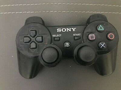 Sony PlayStation 3 PS3 DualShock 3 Wireless SixAxis Controller Black