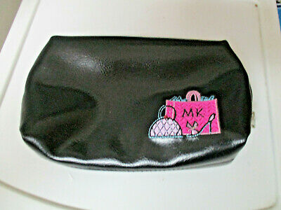 Mary Kay ~ Girlfriend  Makeup Cosmetic Bag Black ~ New, lined