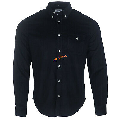 Men's Ex Chainstore Corduroy Long Sleeves Cotton Winter Spring Casual Shirts